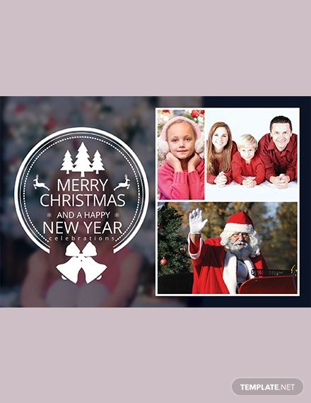 Free Christmas Family Photo Card Template Word Doc Psd Apple Mac Pages Publisher Family Photo Cards Photo Card Template Christmas Family Photos