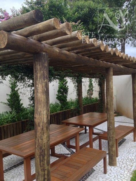 Pérgola Eucalipto Citriodora Condomínio Jd Social , Curitiba - Pr