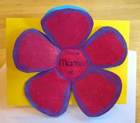 Klassenkunst Geschenk Zum Muttertag Karte Mit Bildern