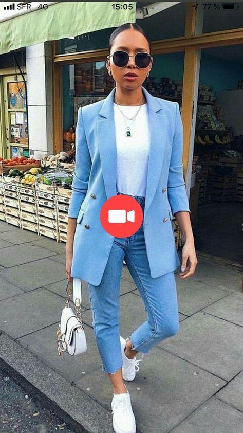 Le meilleur style de rue - Jeans Femmes - Idées de Jeans Femmes #womenjeans - Discove ... #stylederue #modederue #ideesdemode