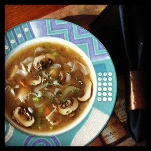 Got the flu? Feed your cold  with this #recipe for a steamy bowl of soup