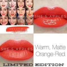 Waterproof, smudgeproof, kissproof! Apply to clean, dry lips. For a defined look, line with LinerSense first. With lips parted, apply LipSense in one direction beginning with outside corner of the mouth. Spread color in a fluid, sweeping motion across lips to opposite corner (do not move applicator back and forth). Apply three layers for long-lasting results. Lipsense Color MUST be used with Lipsense gloss to seal the color. It will not work with other glosses or chapstick.