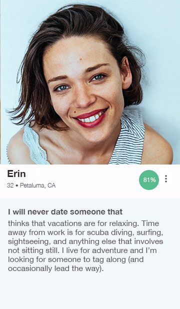 Funny headlines for dating profiles for women