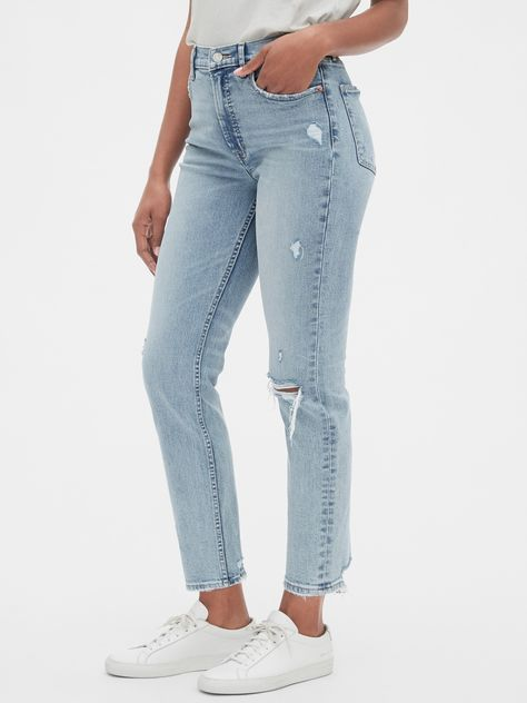Women Jeans Outfit Women Shopping Smart Casual Clothes Casual Pants For Men Pink Swimsuits Plus Size Yoga Pants Jeans And Heels Outfit – orchidrlily Ripped Biker Jeans, Distressed Skinny Jeans, Wide Leg Jeans, Gap Jeans, Plus Size Yoga, Plus Size Swim, Jean Grey, Capri Trousers, Pinstripe Pants