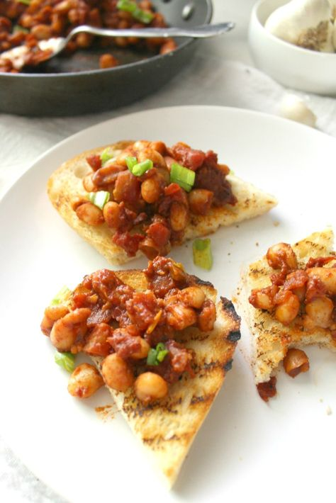 Zesty White Bean Garlic Toast Recipe Food Hub White
