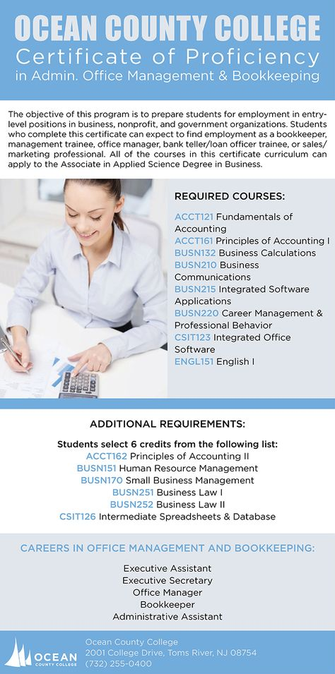 The Program Of Study Is A Core Of Business Courses Which Are