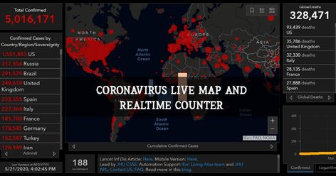 COVID 19 Tracker Live: Check all the latest news and breaking news updates on covid-19 cases. Usa India Uk Canada China and Worldwide.