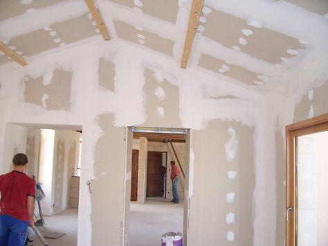 Pose Placo Plafond Refaire Un Plafond Avec Du Placoplatre Pose De Placo Pose Placo Plafond Bande Placo