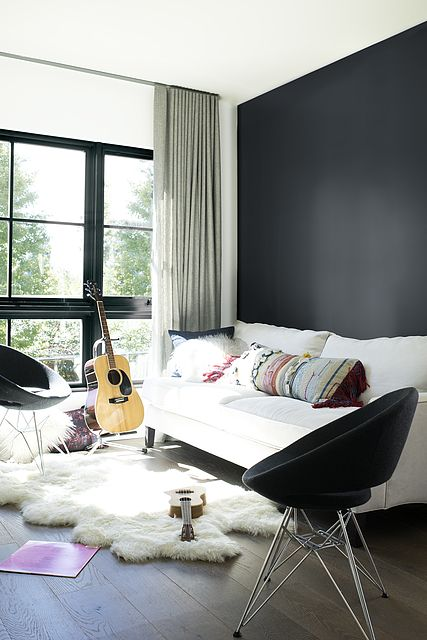 Accent Wall Window Color Baby Seal Black Left Wall Color Baby S Breath Black Accent Wall Living Room Accent Wall Paint Colors Black Accent Walls
