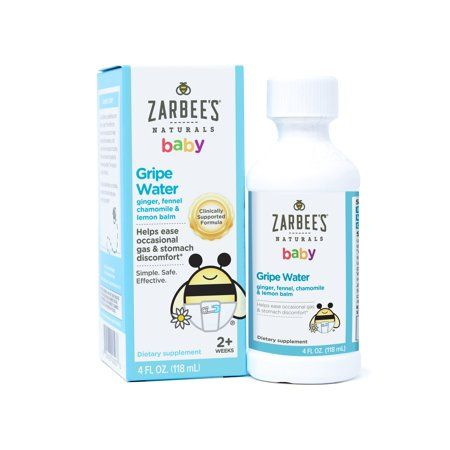Zarbee S Naturals Baby Gripe Water Clinically Supported Formula