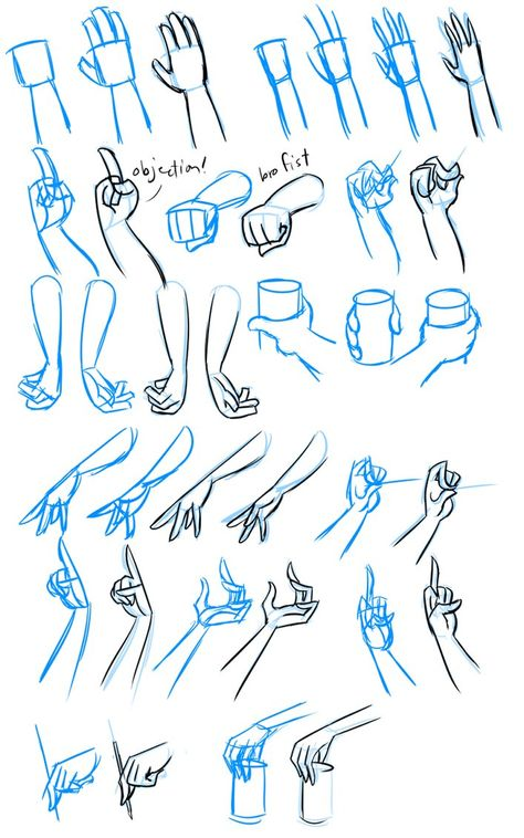 ✔ Drawing Tips Anime Hands Hand Drawing Reference, Drawing Hands, Drawing Base, Art Reference Poses, Drawing Tips, Drawing Ideas, Drawing For Kids, Drawing Templates, Drawing Techniques