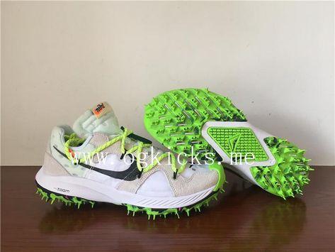OFF WHITE X Nike Zoom Terra Kiger 5 White Volt Yupoo