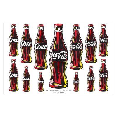 sticker autocollant Coca VINTAGE N° 11