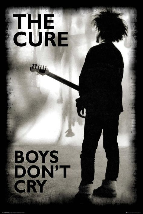 The Cure - Boys Don't Cry - Poster