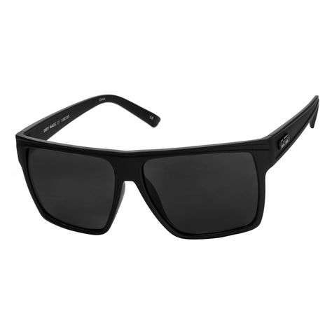 2a905fea1d Le Specs Dirty Magic Black Rubber Sunglasses