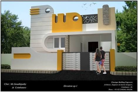 Image Result For Coimbatore Building Elevation Small House Elevation Design House Elevation Village House Design