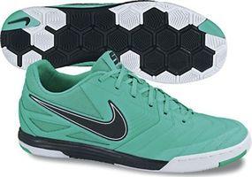premium selection 91fe3 70fce Nike5 Lunar Gato Indoor Soccer Shoes (Calypso White Black)