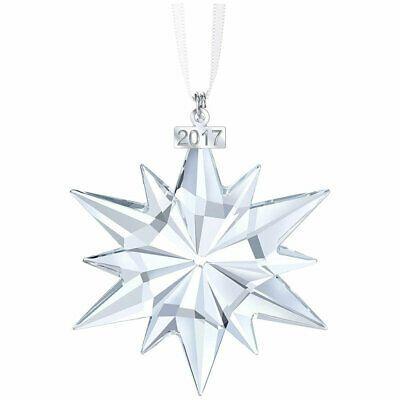 2020 Swarovski Crystal Snowflake Annual Edition Large Christmas Ornament Swarovski Christmas Ornament 2017 Annual Edition Clear Crystal