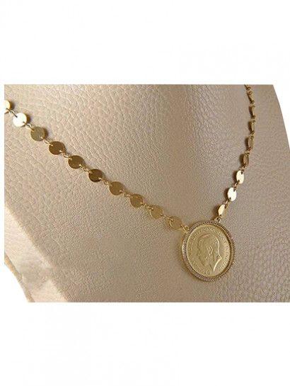 كوليه ذهب عيار 18 طول السلسلة 50 سم خصم 10 علي المصنعية Jewelry Jewelrymaking Love Women Gold Goldjewellery Jewelry Gold Gold Necklace