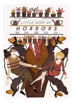 Little Shop Of Horrors Movie Poster Http Www Sarahcliffordillustration Co Uk Little Shop Of Horrors Horror Posters Horror Movie Posters