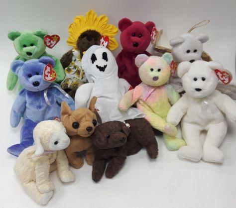 e70c120114c Ty Beanie Babies Bundle of Bears Joblot Collectors Toys  883