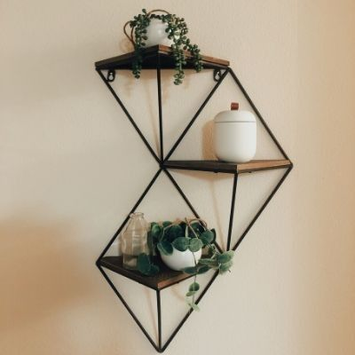 Creative Wall Accessories Wall Decor Geometric Shelves Decor
