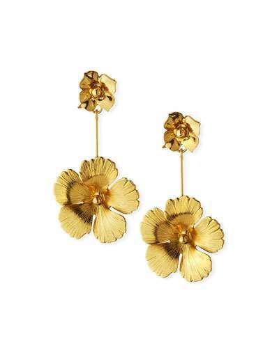 Jennifer Behr Kalina Flower Drop Earrings in 2019 | Products