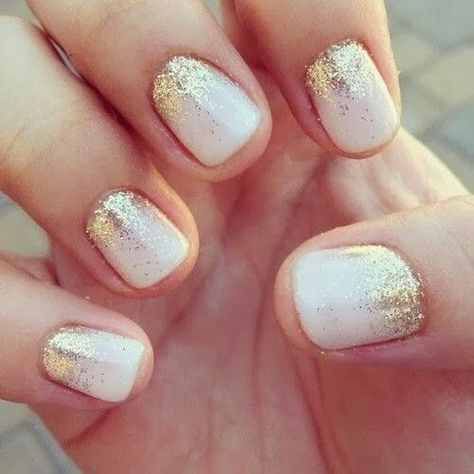Gold Plated - The Prettiest Wedding Nails For Your Big Day - Photos