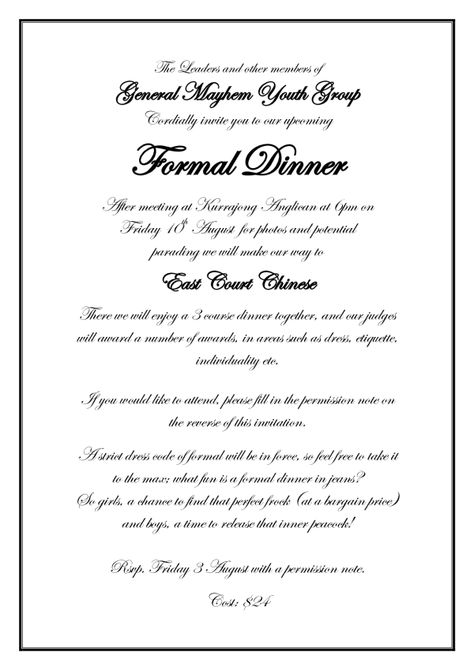Formal Invitation Wording Wedding Ideas Pinterest Formal - Formal Business Invitation