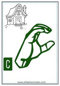 Alfabeto Em Libras Para Imprimir Colorido Cartazes De Parede Com