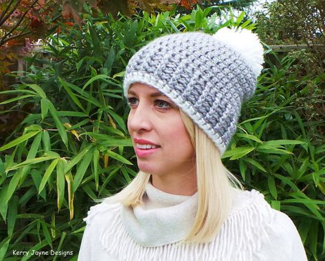 ff33186c21b CROCHET HAT PATTERN Nordic Ribbed Hat and by KerryJayneDesigns ...