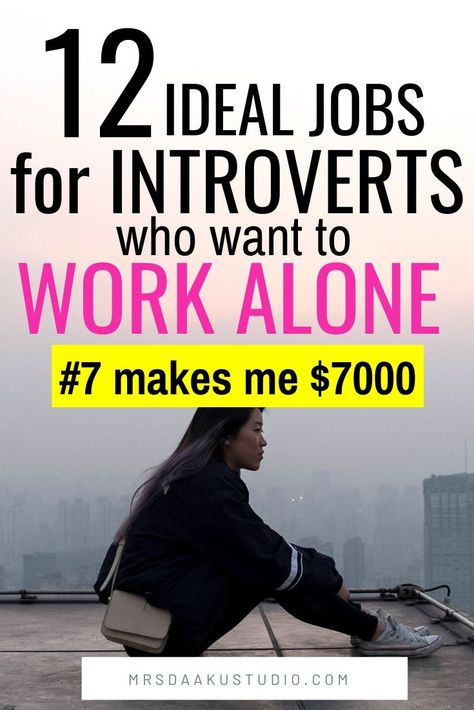 Online Jobs for Introverts and shy people - Earn $5000 a month and more!