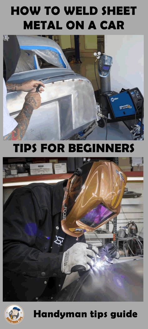 How to weld sheet metal on a car! Every welding process is different and welding sheet metal on a car is much harder then welding steel bars! Check out this set of tips for beginners!