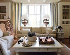 What Are The Rules For Placing A Couch In Front Of A Window I Have One Large Window In My Cookie Cutter Home Liv Holiday Living Room Curtains Living Room Home