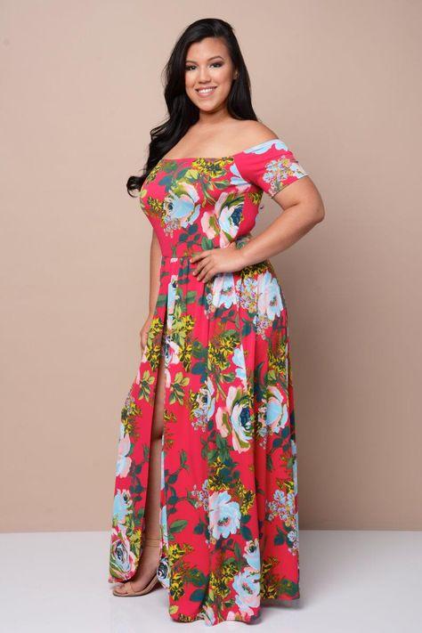 8ca5cb60e443 Maxi Overlay Skirt Romper Dresses+ GS-LOVE