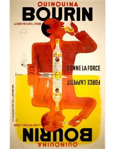 Kattus Hockriegl-Sekt Vintage Poster J Binder Austria 1929 24X36 NEW PRIZED