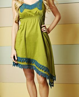 Love the lines on this Matilda Jane Clothing dress!