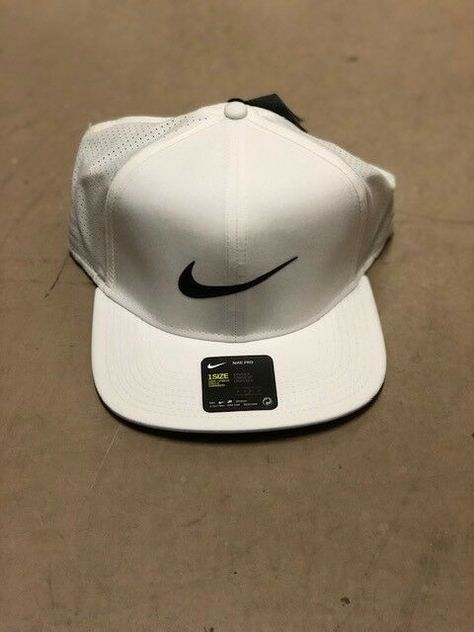 808a43bc MEN'S White NIKE SNAPBACK Golf Hat... Brand New With Tags #fashion #