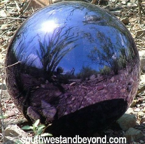 044-D Glass Gazing Ball 12 inch Grape Garden Globe Sphere