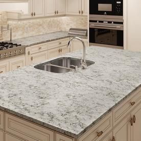 Allen Roth Nutmeg Quartz Kitchen Countertop Sample At Lowes Com