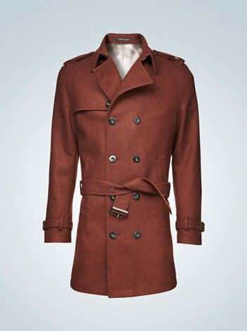 Delcort coat Tiger of Sweden. The colour! | Man makers