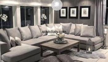 شقق مفروشة للايجار بأفضل المستويات والاسعار بالقاهرة الصور 00201227389733 Sectional Couch Furniture Home