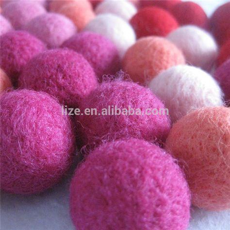 Factory Balls Christmas.Factory Price 3cm Wool Felt Balls Christmas Ball Ornaments