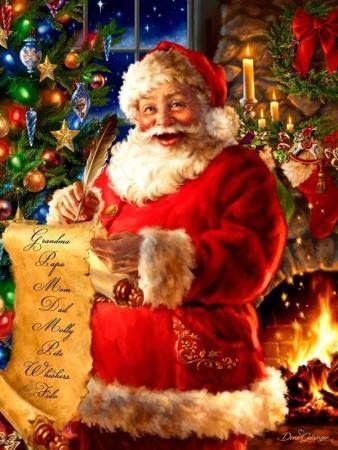 Il Blog Su Interessi E Passioni Delle Donne Babbo Natale Babbi Natale Vintage E Buon Natale