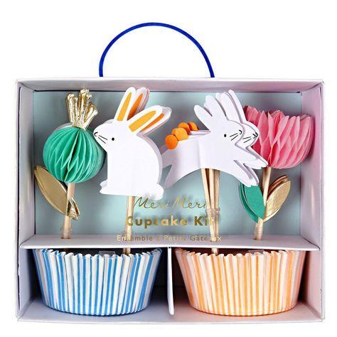 Susses Cupcake Set Im Osterdesign Fur Euren Osterkaffeetisch