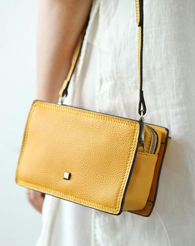 ac68c29d956 Cute Leather Womens Small Box Crossbody Bag Purse Zipper Shoulder Bag