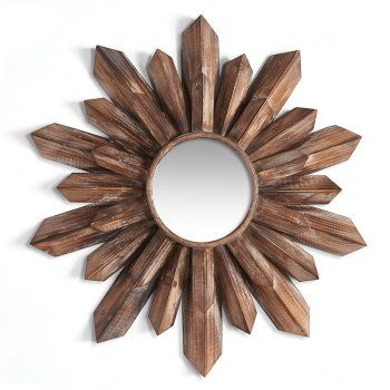 Napa Home And Garden Wood Starburst Wall Mirror Hayneedle Starburst Mirror Wall Starburst Mirror Wood Starburst Mirror