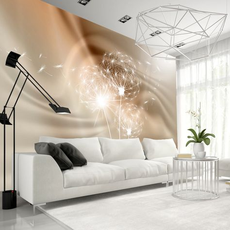 murando - Fototapete 200x154 cm - Vlies Tapete - Moderne Wanddeko - wandgestaltung mit drei farben