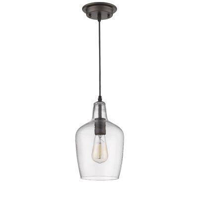 Spradley 1 Light Single Bell Pendant Glass Pendant Lighting Kitchen Glass Pendant Light Pendant Light Cord