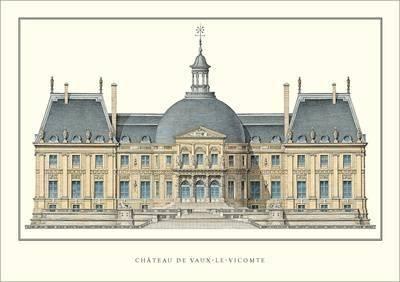 Chateau de Vaux-le-Vicomte-Poster